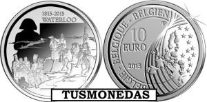 Belgica_2015_10€_waterloo