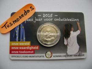 2€ BELGICA NIÑA 2015