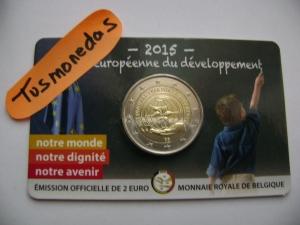 2€ BELGICA NIÑO 2015