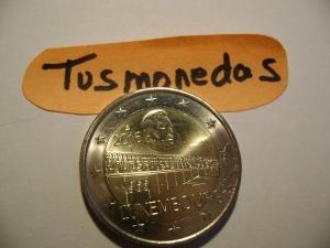 2€ LUXEMBURGO 2016 PUENTE