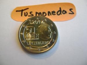 2€ LUXEMBURGO 2017 SERV.MILITAR