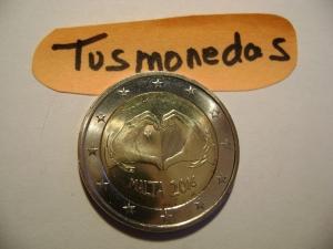 2€ MALTA 2016 CUORE