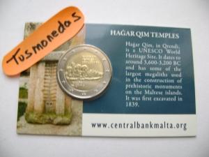 2€ MALTA COINCARD HAGAR 2017