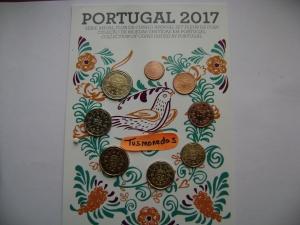 SERIE PORTUGAL FDC 2017