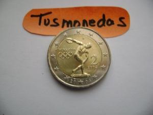 2004 2€ Atenas