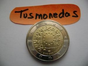 2015 2€ Bandera