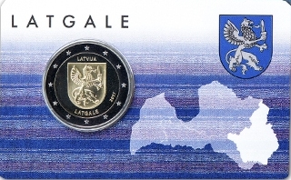 Letonia_2€ 2017_Coincard_Latgale