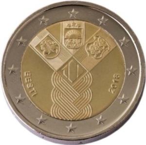 Estonia_2_euro_2018_Estados_ Balticos