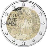 Alemania 2 euro conmemorativa sin circular30 aniversario caida muro berlin
